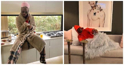 Somizi gets irked by new neighbours who wake him up for a meet and greet