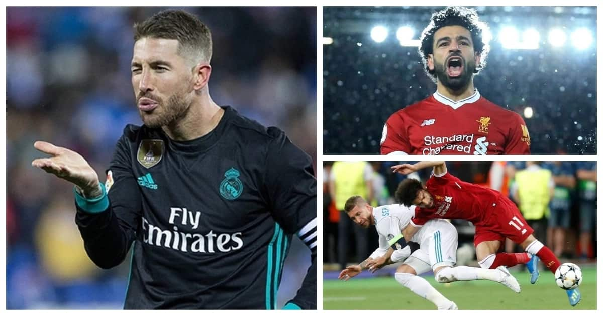 Sergio Ramos could face a R14billion lawsuit for injuring Salah