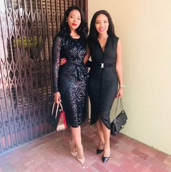 Thembeka and Norma Gigaba. Source: ZAlebs