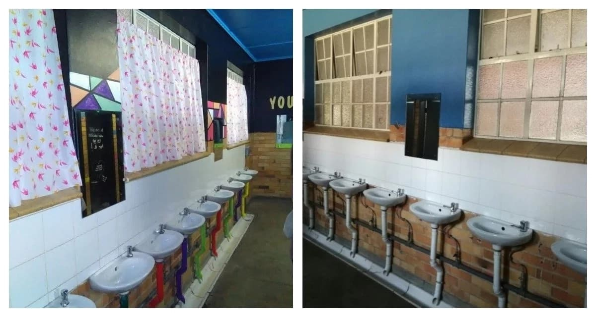 Local teacher goes above and beyond by renovating bathrooms and feeding hungry kids
