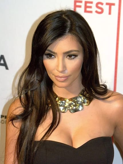 She's filthy rich: Kim Kardashian shows off her R50 000 designer trash bins