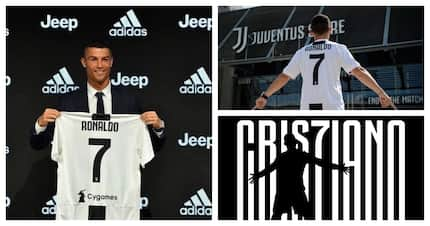 Cristiano Ronaldo officially unveiled as a Juventus FC player