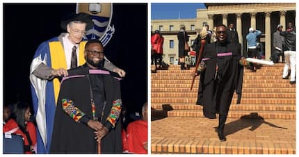 From sleeping on library steps to graduating from Wits: Student celebrates