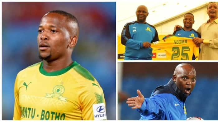 Aubrey Ngoma desperate to leave Mamelodi Sundowns due to lack of game time