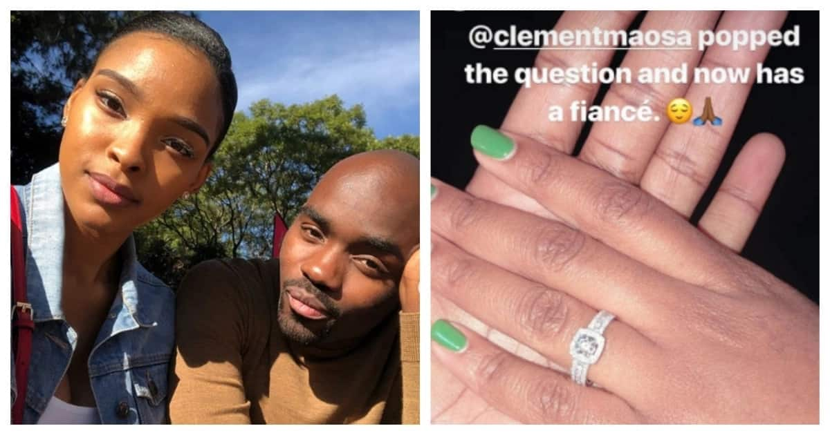 Mzansi celebs celebrate their love some amazing engagement rings for their loves