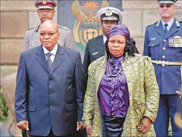 Former president Zuma with his first wife, MaKhumalo. Source: news365.co.za