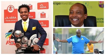 Mamelodi Sundowns release Percy Tau after Motsepe agrees to record-breaking deal