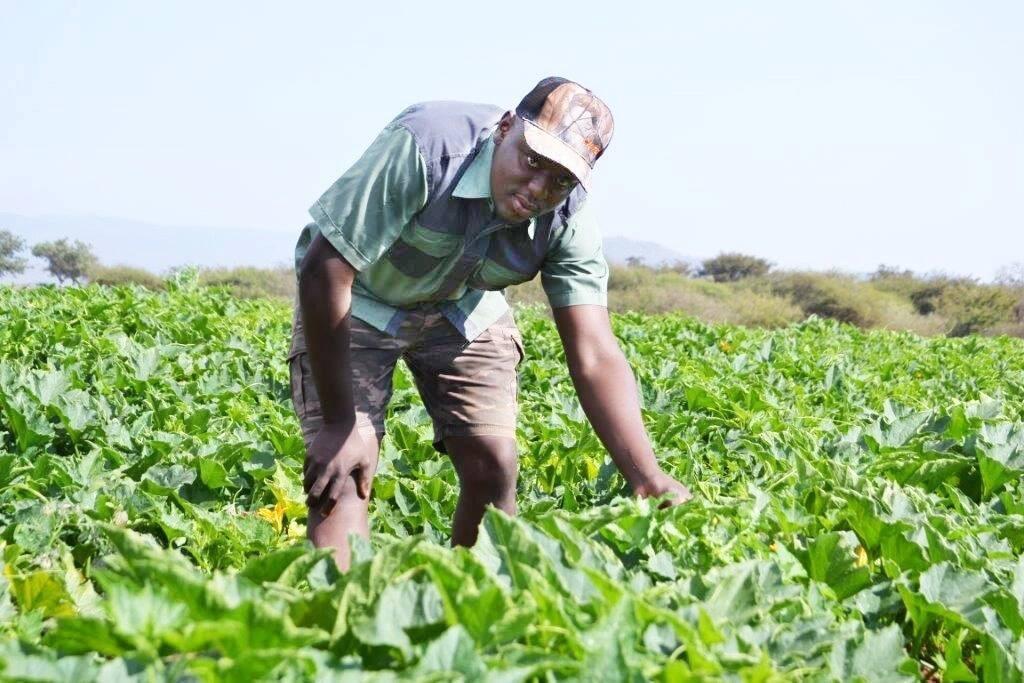 Nyadzani Rerani pictured at his farm. Source: vukuzenzele.co.za