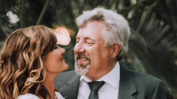 High school sweethearts tie the knot after making a pack decades ago