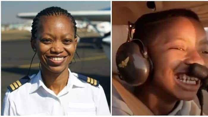 Meet Refilwe Ledwaba, the helicopter pilot teaching young girls to fly