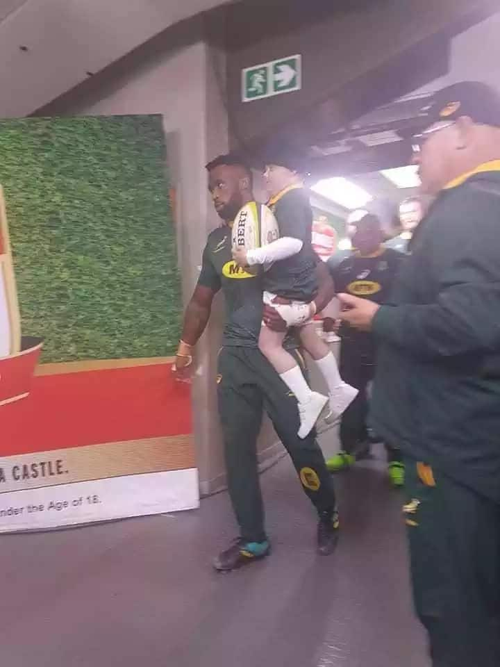 Siya Kolisi dedicates match against England to 7-year-old cancer fighter