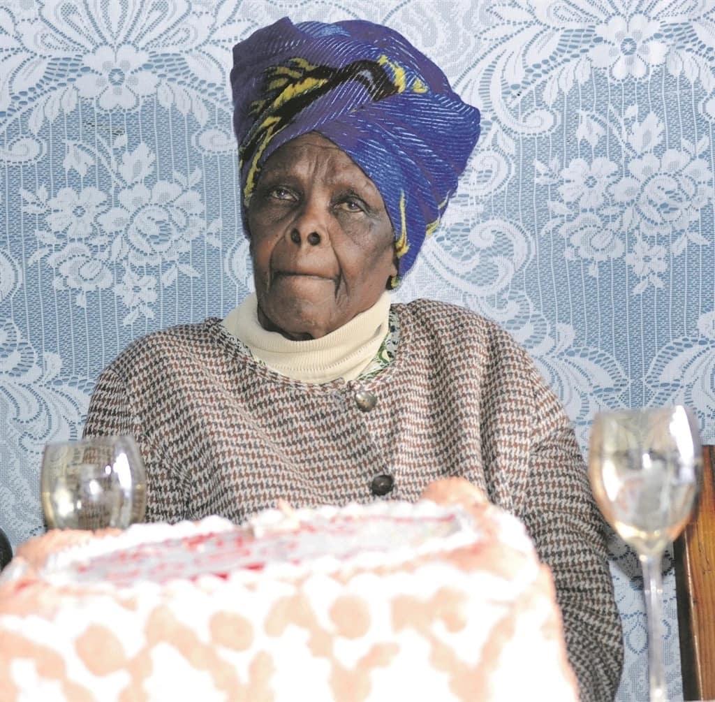 Gogo Nontsuku Nxina turned 100 years old on 10 August. Source: Daily Sun/Luvuyo Mehlwana