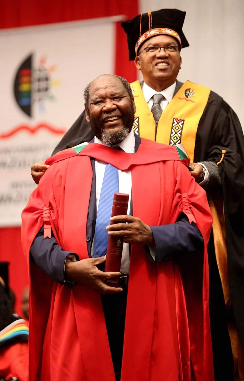 Former Statistician-General Pali Lehohla was awarded an honorary doctorate. Source: IOL