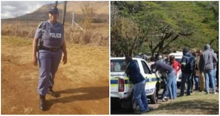 Policewoman hailed as a hero for protecting suspect from angry mob