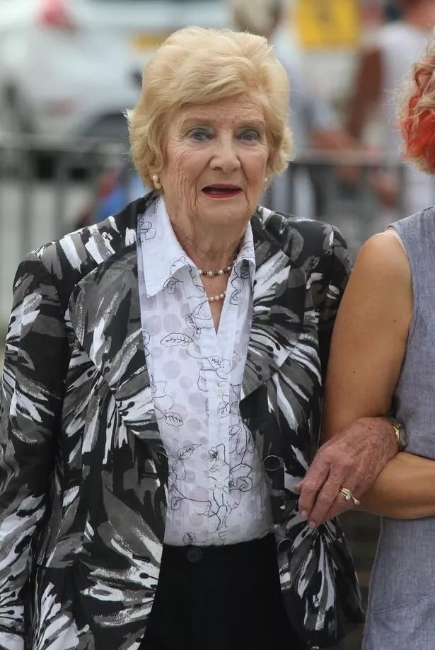 91-year-old Pauline Horrigan was arrested after the incident. Source: Mirror