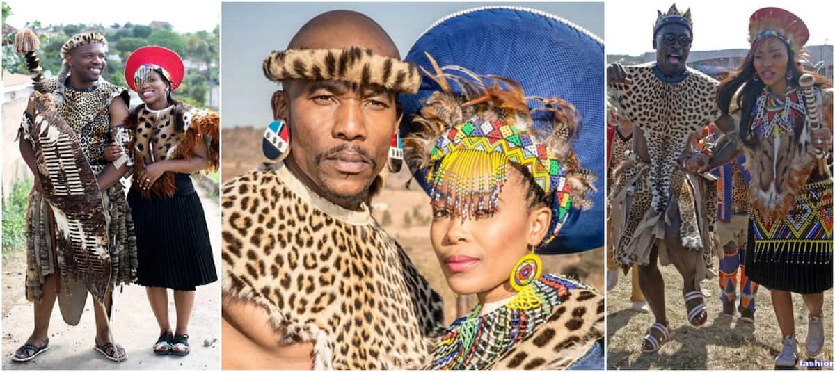 22dbf42443fc A closer look at Zulu traditional wedding attire