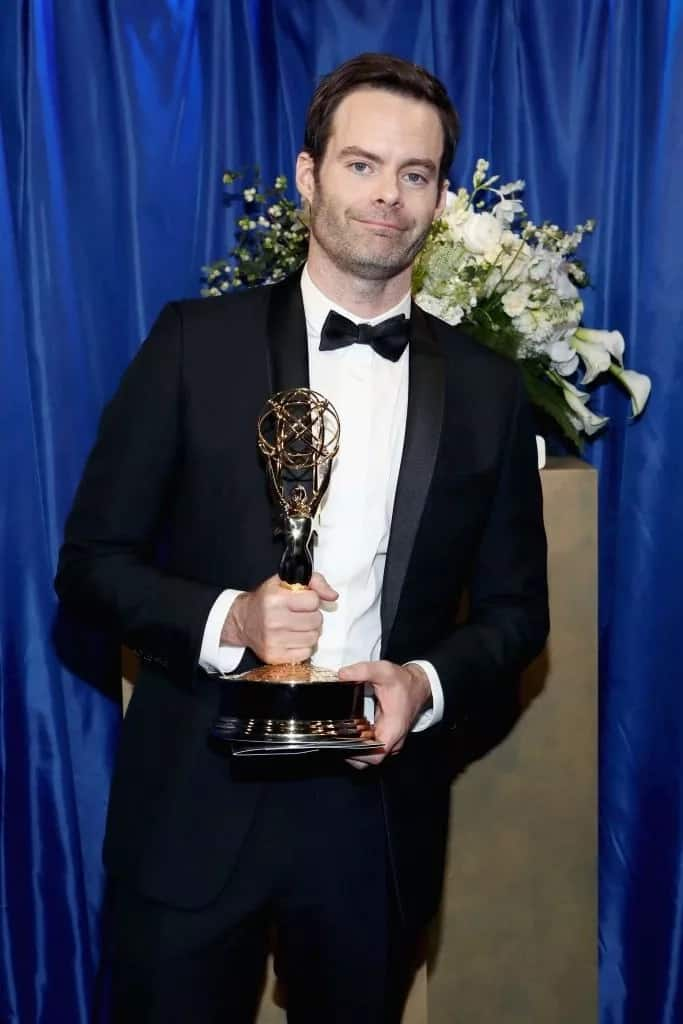 Bill Hader won Best Actor in a Comedy Series for 'Barry'. Photo credit: Getty Images