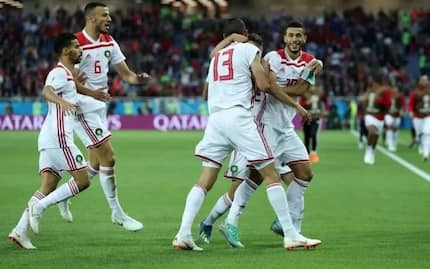 Spain held to a 2-2 draw by Morocco in thrilling Group B finale