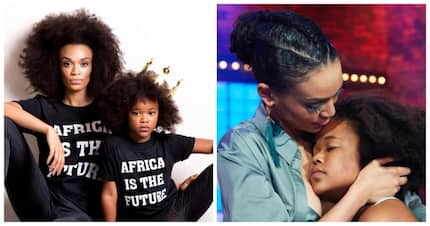 Pearl Thusi posts her daughter's pre-teen sass moment on social media