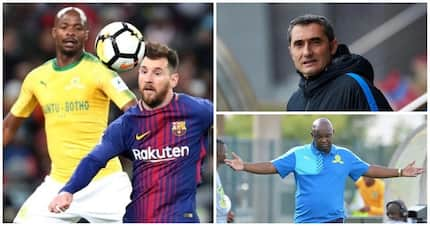 Pitso admits Barca on another level while Valverde pleased with performance