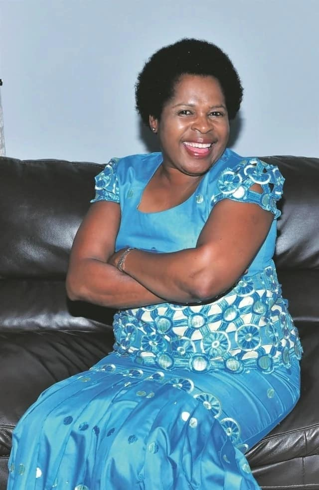 Dieketsang Mnisi, who plays MaNtuli on Skeem Saam. Source: news.365.co.za