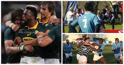 Springbok captain Siya Kolisi has a humble origin story