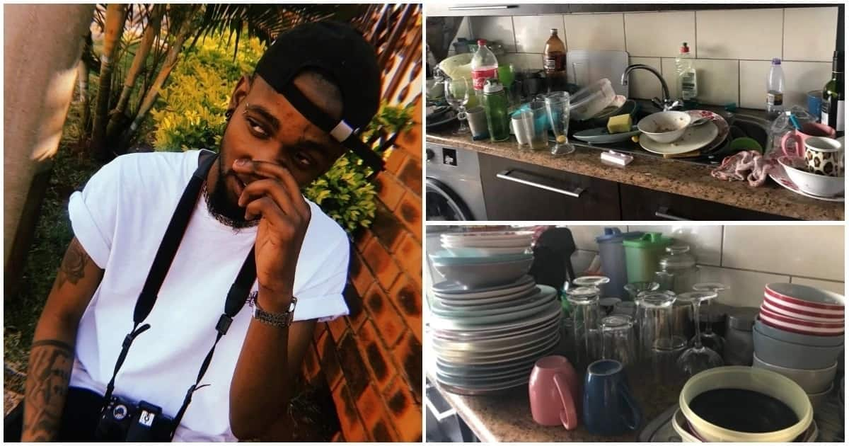 Man starts his own dishwashing business and inspires thousands