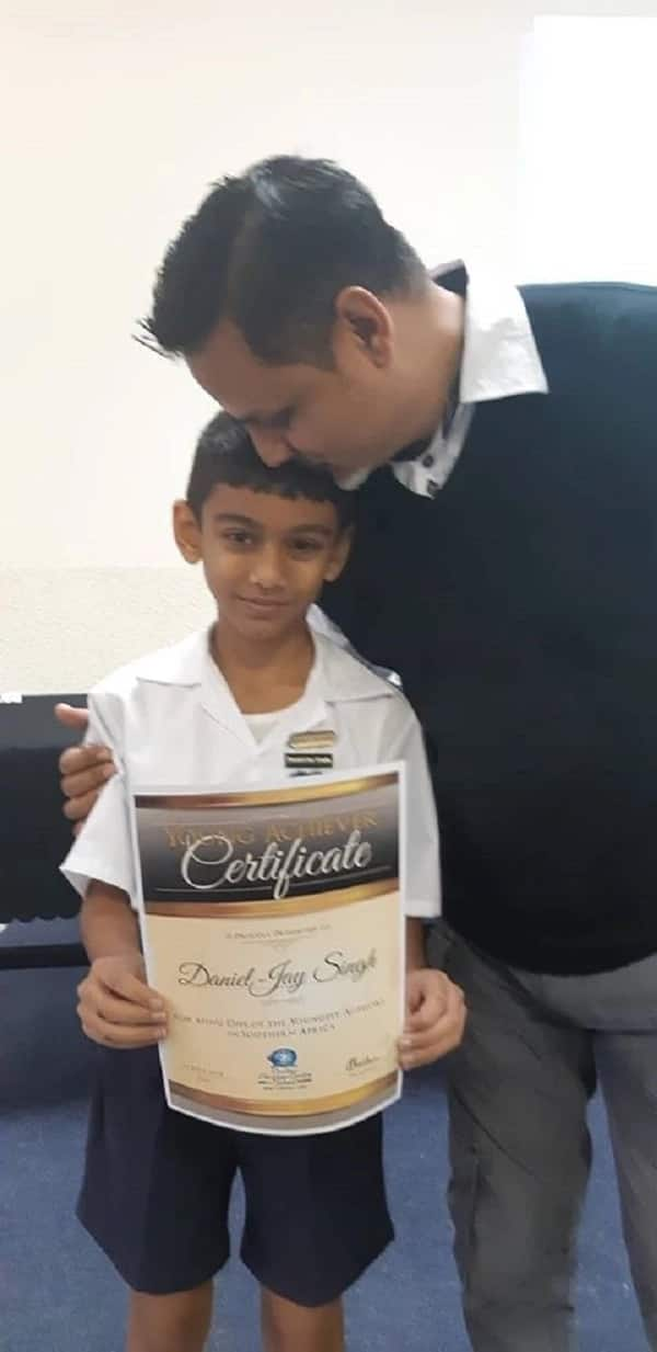 Meet Daniel Singh, 1 of the youngest authors in South Africa