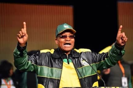 Former president Zuma announces his continued belief in free tertiary education