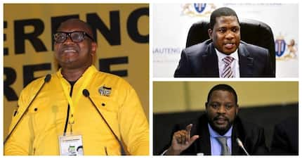 Who are the ANC's newly elected Gauteng top five leaders?