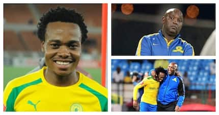 Percy Tau and Mamelodi Sundowns in public spat over European move