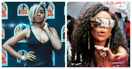 Nadia Nakai served some serious sauce, thanks to Bonang Matheba
