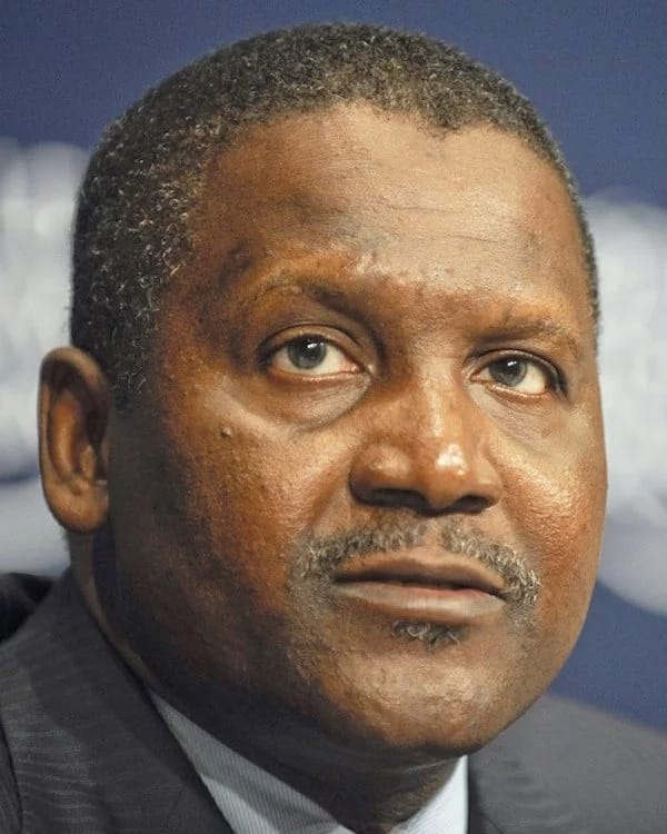 Aliko Dangote, from Nigeria, is the richest African for the seventh year running, with a net worth of $12.2 billion. Source: Google