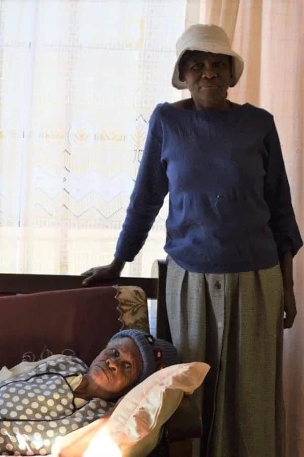 Sehao pictured with her daughter, Miriam. Source: potchefstroomherald.co.za