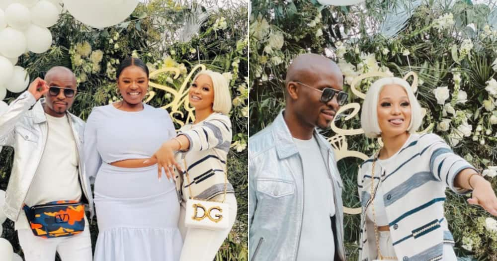Thickleyonce shares her friends beautiful engagement party