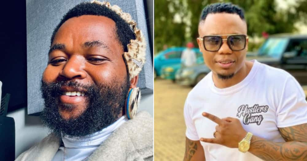 DJ Tira and Sjava Show AKA Support at Nelli Tembe's Funeral Service