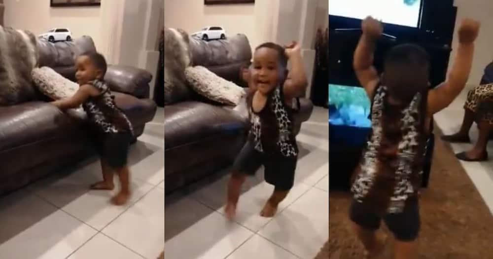 Presidency shares video of adorable little boy doing #JerusalemaChallenge