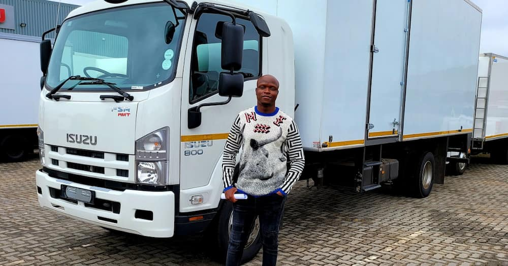 Lekhau Sehoana has bought a truck
