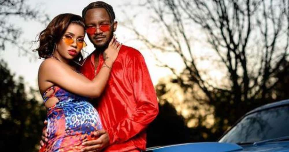 """Kwesta and Yolanda's gender reveal: """"A daddy with daughters"""""""