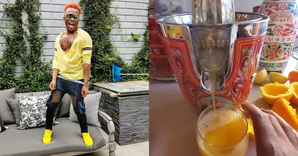 Somizi Flexes His D&G Smeg Collection, Valued at a Whopping r22 000