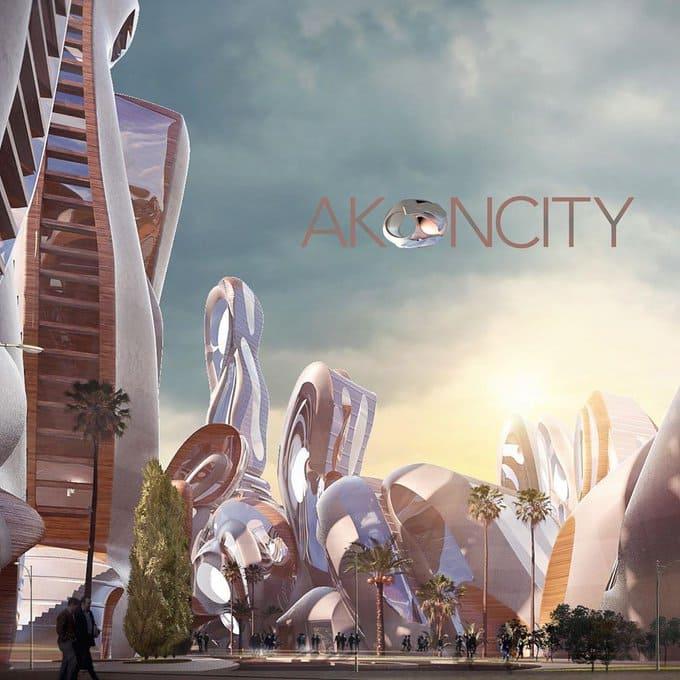 Where is Akon city?
