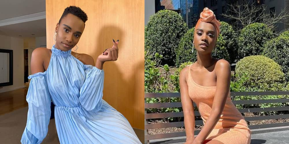 Zozi Tunzi Makes Icy Winter More Bearable With Fiery Hot Swimwear Snaps: Yass Queen