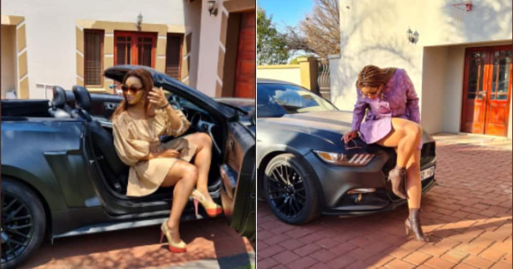 Men, Beautiful woman, Sportscar, Mzansi, Social media, Twitter, Picture, Reactions
