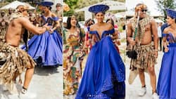 Tamaryn Green and her fiancé celebrate umembeso, former Miss SA gives Mzansi an inside look
