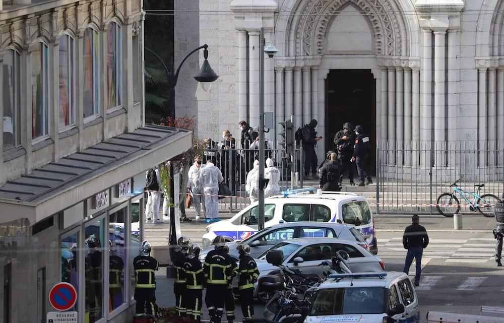 Jihadist murders three worshippers in France