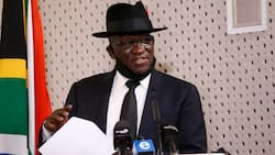 """Bheki Cele says cops are close to cracking insurrection case: """"He must just voetsek this one"""""""