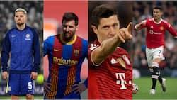 Lionel Messi, Robert Lewandowski, Jorginho named in top 15 favourite players for the 2021 Ballon d'Or