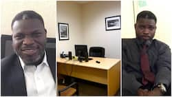 Boss catches cleaner taking selfie in his office, encourages him to follow dreams
