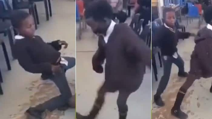 """""""Moves are fire"""": Mzansi impressed by vibey clip of learners dancing in class"""