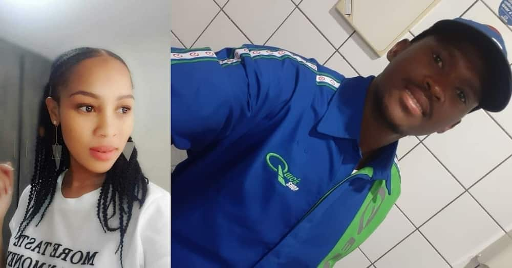 petrol attendant helps woman with his last cash